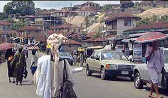 যমজের রাজধানী ইগবো ওরা