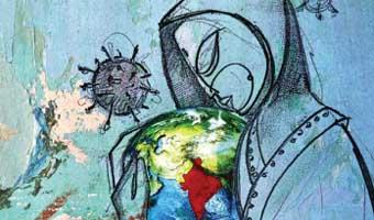 সুদীপ্ত সাধুখাঁর কবিতা 'অপরিকল্পিত লকডাউন'