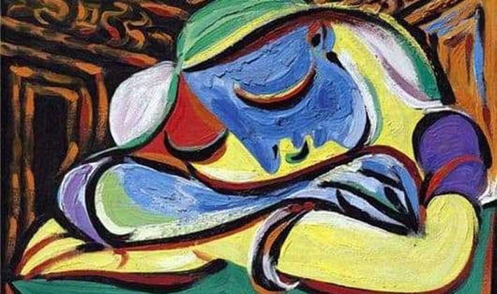 পাবলো পিকাসোর চিত্রকর্ম 'ঘুমন্ত বালিকা'