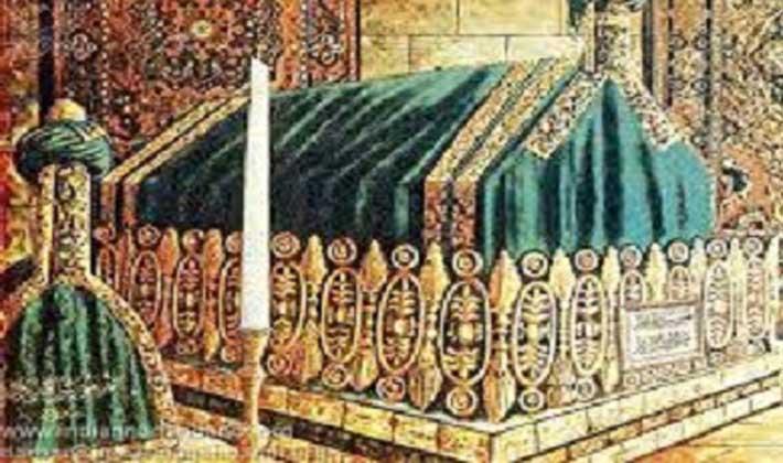 হযরত মুহাম্মদের (সা.) রওজা মুবারক