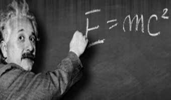 আইনস্টাইনের বিখ্যাত সমীকরণ E = mc2