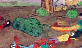 আকন্দ শাওনের কবিতা 'ইসরাইল সাবধান হও, সাবধান'