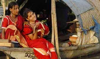 সাানোয়ার রাসেলের কবিতা 'বাইদ্যার ছেড়ি'